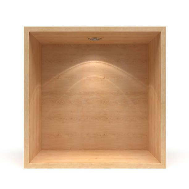 3 d の空の木製の棚:スマホ壁紙(壁紙.com)