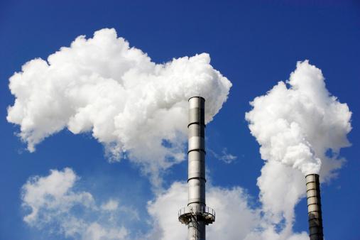 Greenhouse Gas「Free-standing chimney, smoking」:スマホ壁紙(17)