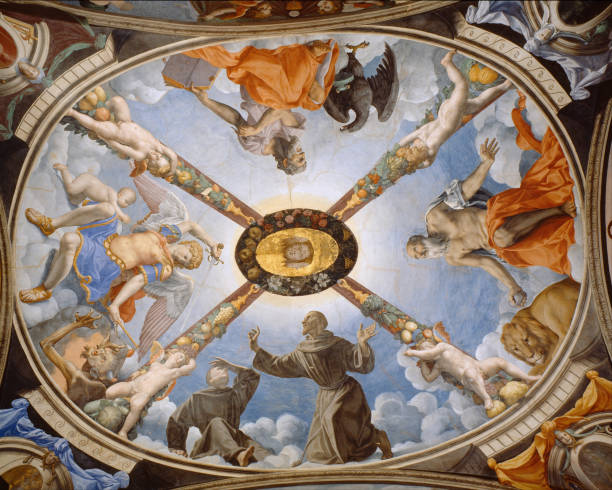 Ceiling Painting Of The Chapel Of Eleonor Of Toledo In The Palazzo Vecchio:ニュース(壁紙.com)