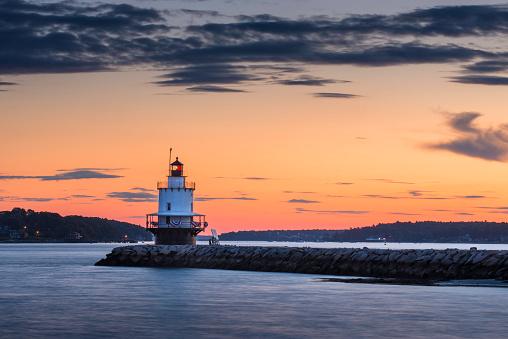 Beacon「Dawn At Spring Point Ledge Lighthouse」:スマホ壁紙(19)