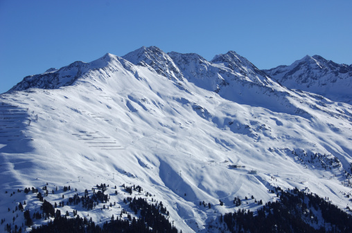 St Anton am Arlberg「Skiing-area」:スマホ壁紙(15)
