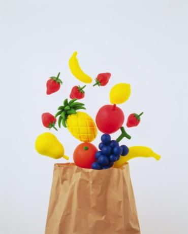 白梨「Clay Craft, Fruits, Front View」:スマホ壁紙(9)
