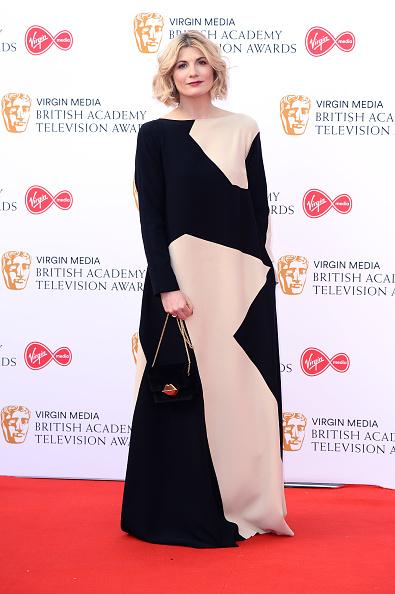 Sleeved Dress「Virgin Media British Academy Television Awards 2019 - Red Carpet Arrivals」:写真・画像(12)[壁紙.com]