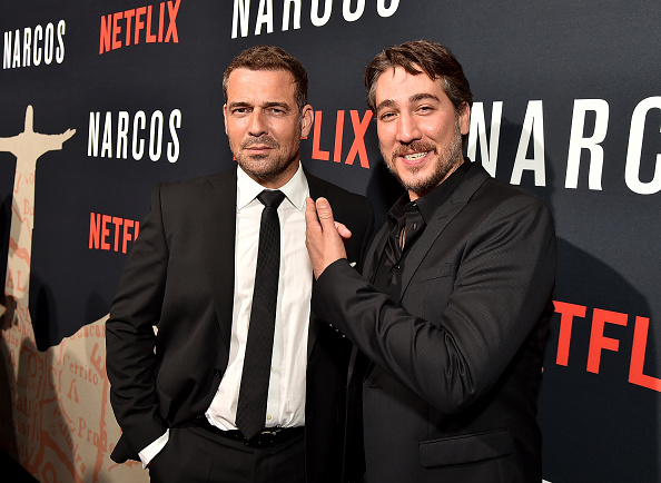2人「'Narcos' Season 3 New York Screening - Red Carpet」:写真・画像(6)[壁紙.com]