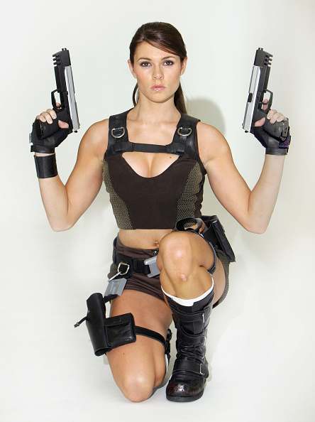 Shirt「The New Face Of Lara Croft Revealed - Photocall」:写真・画像(1)[壁紙.com]