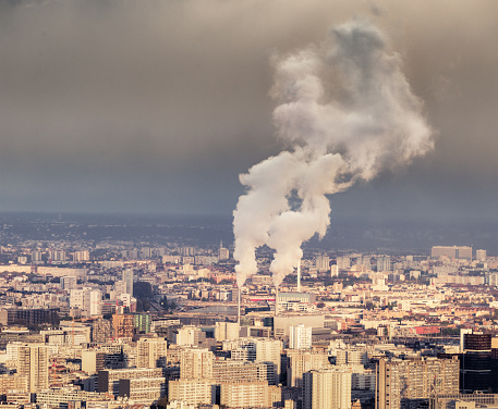 Ugliness「Polluting chimneys in Paris」:スマホ壁紙(18)