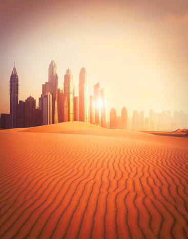 Dubai「Dubai city in the desert」:スマホ壁紙(9)