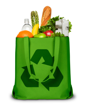 Environmental Conservation「Recycle Grocery Bag」:スマホ壁紙(14)
