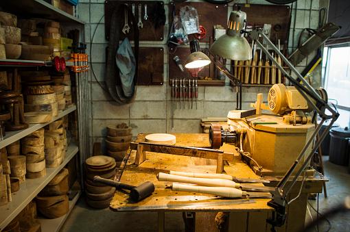 Workshop「Woodworking craftsmen's workplace」:スマホ壁紙(2)