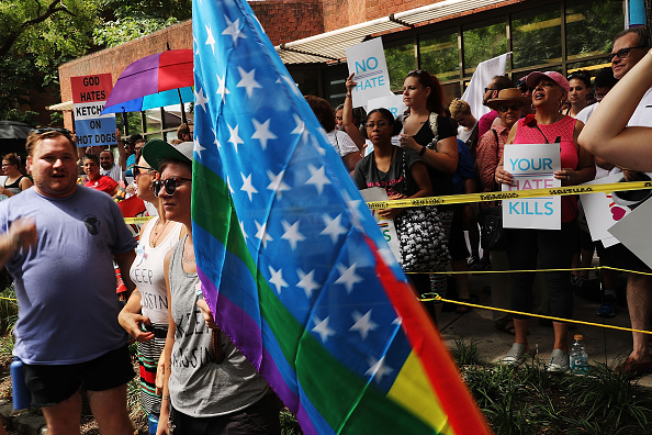 WBC「Protesters Demonstrate In Philadelphia During The Democratic National Convention」:写真・画像(3)[壁紙.com]