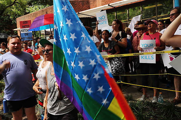 Protesters Demonstrate In Philadelphia During The Democratic National Convention:ニュース(壁紙.com)