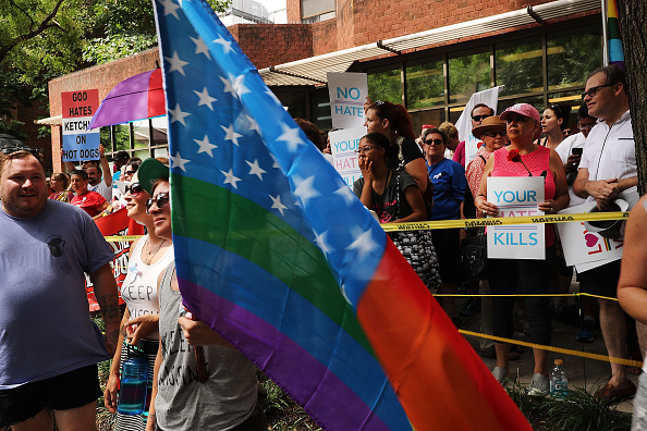 WBC「Protesters Demonstrate In Philadelphia During The Democratic National Convention」:写真・画像(13)[壁紙.com]