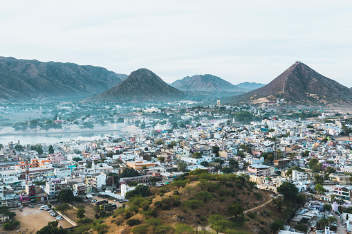 Rajasthan「Raised view of Pushkar」:スマホ壁紙(6)