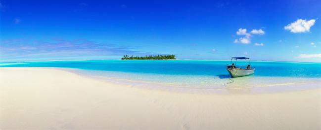 南国「Tapuaetai Island in the Cook Islands」:スマホ壁紙(12)