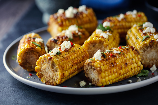 Salad Bowl「Grilled sweet corn with feta flakes」:スマホ壁紙(18)