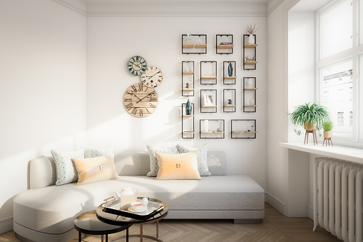 White Color「Affordable Home Interior」:スマホ壁紙(4)