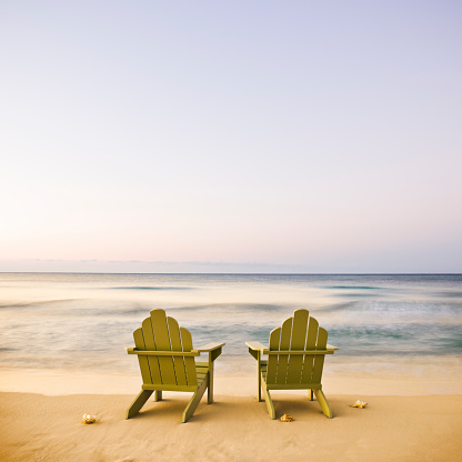 Gulf Coast States「Adirondack Chairs on Beach」:スマホ壁紙(8)