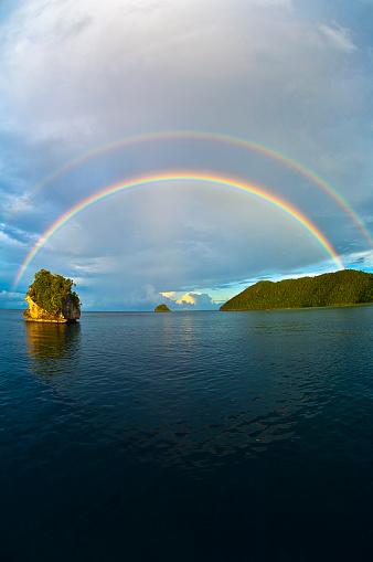 Double Rainbow「Raja Ampat Islands, Wayag」:スマホ壁紙(4)