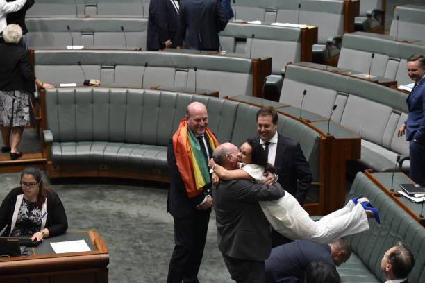 写真「Australian Parliament Legalises Gay Marriage」:写真・画像(12)[壁紙.com]