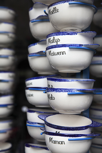 Brittany - France「Typical breton cider bowls」:スマホ壁紙(18)