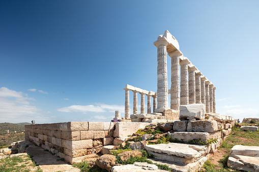 Ancient Civilization「Remains of The Temple of Poseidon on Cape Suonion, Greece」:スマホ壁紙(18)