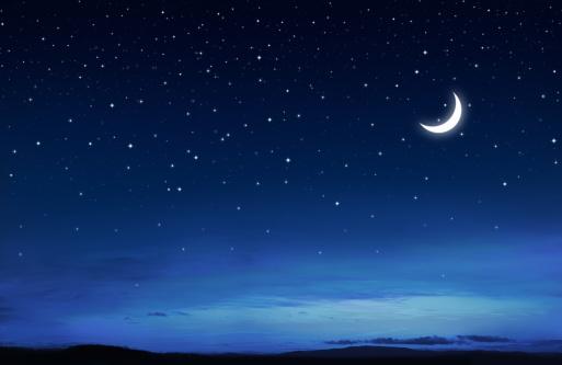 Moon「Starry Peaceful Night」:スマホ壁紙(5)