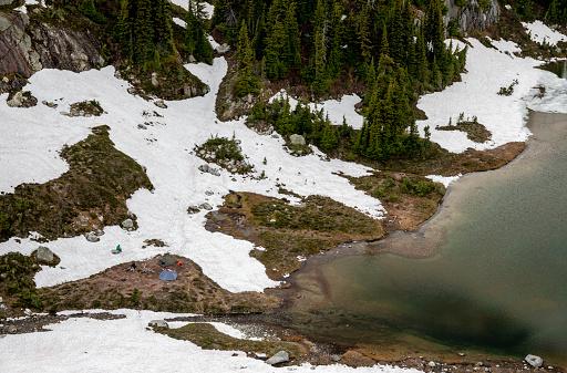 Pemberton「Camp on shore of Semaphore Lake, Pemberton, British Columbia, Canada」:スマホ壁紙(13)