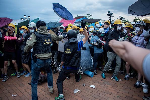 Politics「Student Protestors Continue To Occupy Admiralty Site」:写真・画像(4)[壁紙.com]