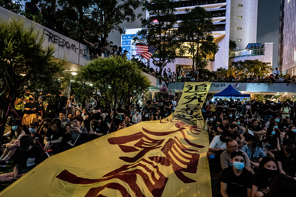 Anthony Kwan「Anti-Government Protests Continue in Hong Kong」:写真・画像(1)[壁紙.com]