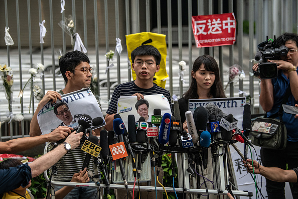 Organized Group「Hong Kongers Protest Over China Extradition Law」:写真・画像(5)[壁紙.com]