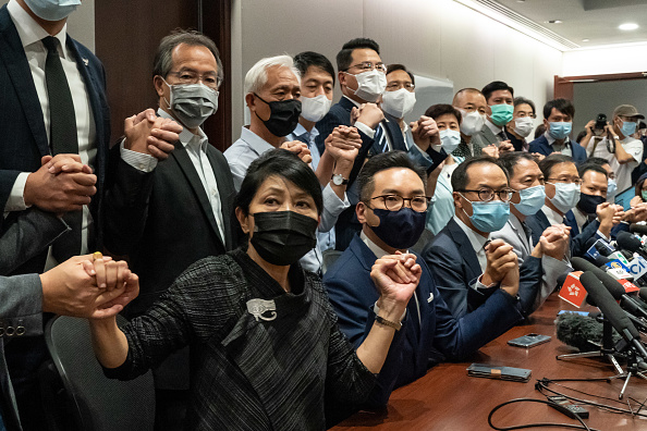 Pro-Democracy「Pro-democracy Lawmakers Ousted From Hk Parliament After Ruling From Beijing」:写真・画像(0)[壁紙.com]
