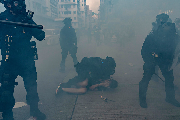 Pro-Democracy「Anti-Government Protests Continue in Hong Kong」:写真・画像(17)[壁紙.com]