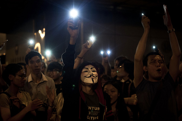 Mong Kok「Hong Kong Police Continue To Clear Protest Sites」:写真・画像(17)[壁紙.com]