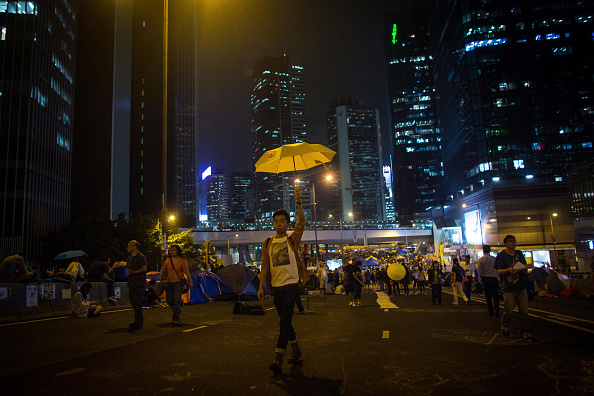 Yellow「Hong Kong Students Stage A Rally To Mark One Month Since Protests Began」:写真・画像(17)[壁紙.com]