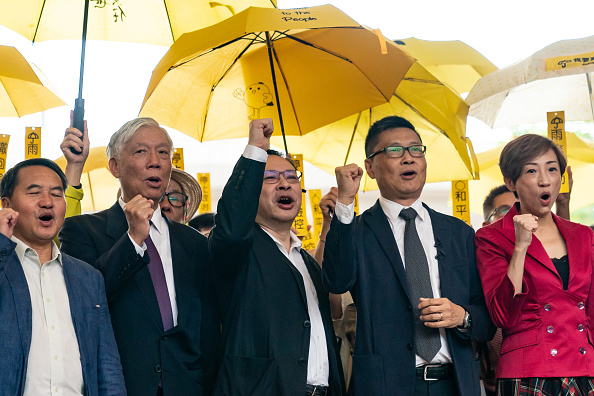 Activist「Hong Kong's Democracy Leaders Go On Trial」:写真・画像(10)[壁紙.com]