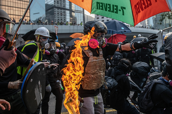 Pro-Democracy「Anti-Government Protest Movement in Hong Kong」:写真・画像(18)[壁紙.com]