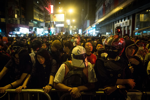 Mong Kok「Hong Kong Police Continue To Clear Protest Sites」:写真・画像(18)[壁紙.com]
