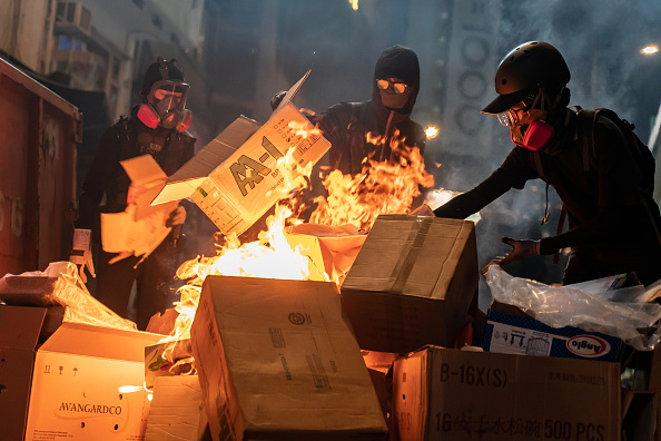 Bestof「Anti-Government Protests Continue in Hong Kong」:写真・画像(14)[壁紙.com]