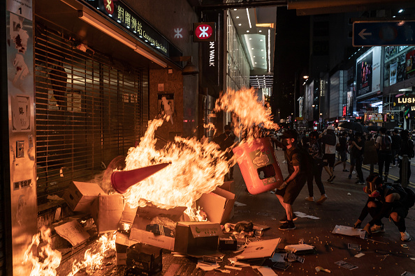 Anti-Government「Anti-Government Protest Movement in Hong Kong」:写真・画像(7)[壁紙.com]