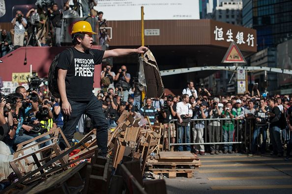 Homemade「Police Continue Efforts To Clear Hong Kong Protest Sites」:写真・画像(15)[壁紙.com]