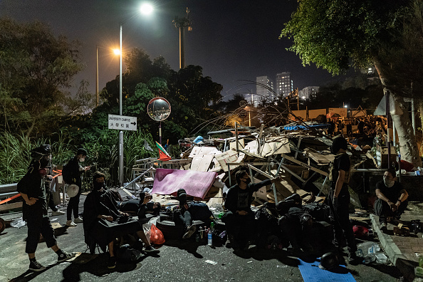 Barricade「Anti-Government Protests in Hong Kong」:写真・画像(15)[壁紙.com]