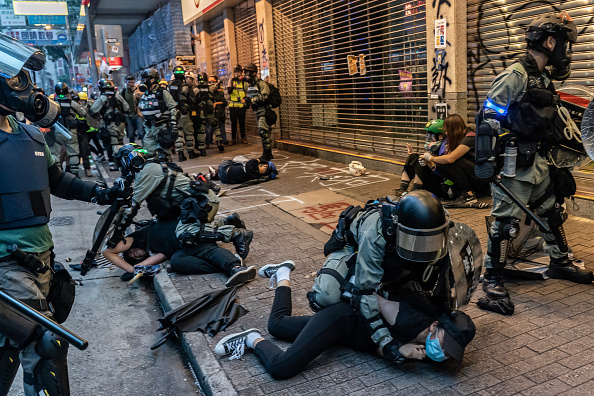 Protestor「Anti-Government Protests Continue in Hong Kong」:写真・画像(3)[壁紙.com]