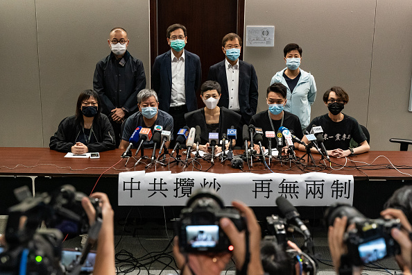 Law「China Propose Controversial Security Laws For Hong Kong」:写真・画像(10)[壁紙.com]