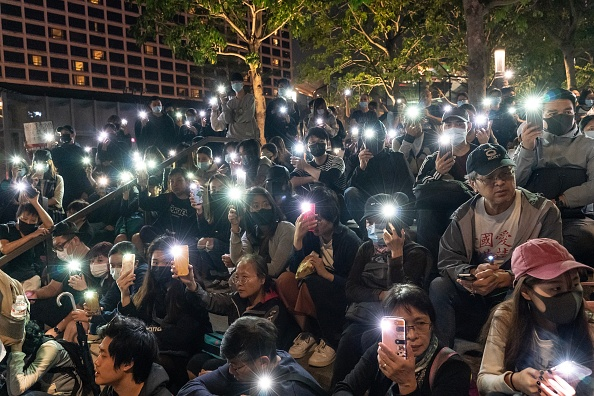 Lighting Equipment「Anti-Government Protests in Hong Kong」:写真・画像(5)[壁紙.com]