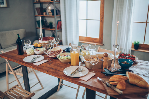 Place Setting「Dinner is ready」:スマホ壁紙(0)