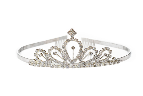 Tiara「Old Diadem on White Background」:スマホ壁紙(2)