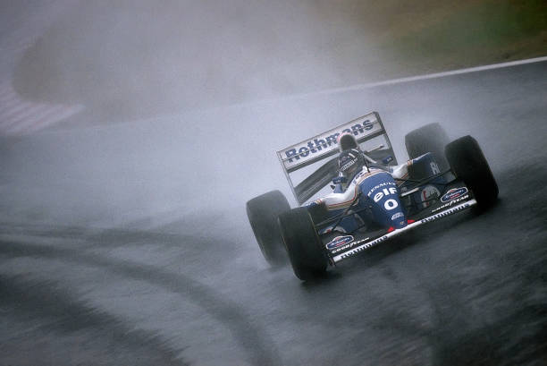 Japanese Formula One Grand Prix「Damon Hill, Grand Prix Of Japan」:写真・画像(8)[壁紙.com]