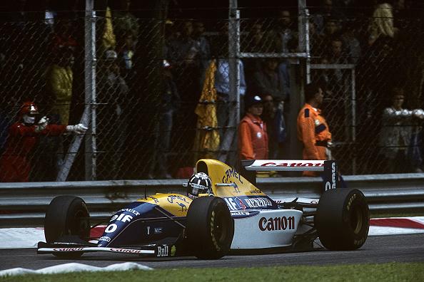 F1グランプリ「Damon Hill, Grand Prix Of Italy」:写真・画像(13)[壁紙.com]