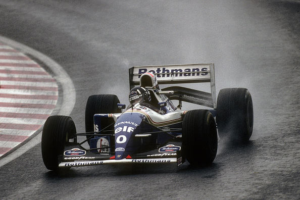 Japanese Formula One Grand Prix「Damon Hill, Grand Prix of Japan」:写真・画像(1)[壁紙.com]