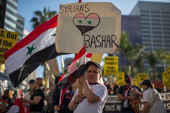 Chemical「Anti-War Protests Take Place Across Country After President Trump Ordered Airstrikes In Syria」:写真・画像(3)[壁紙.com]